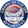 America's Top 100 Attorneys Badge
